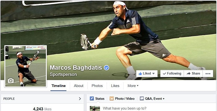Marcos Launches Official Facebook Page