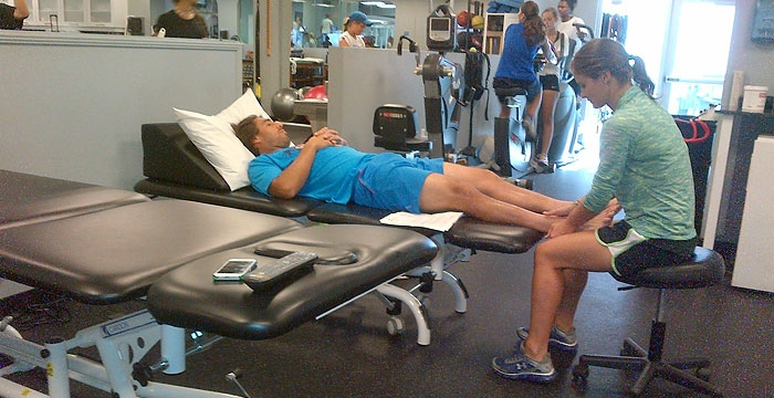 Marcos Working On Rehab