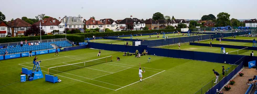 Grass Season Gets Underway In Surbiton